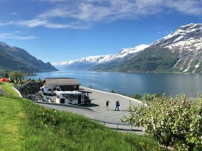 Campingplätze in Fjord Norwegen