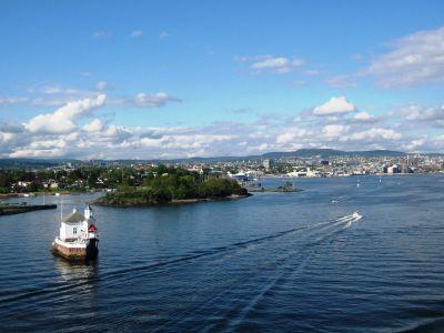Fähre nach Norwegen