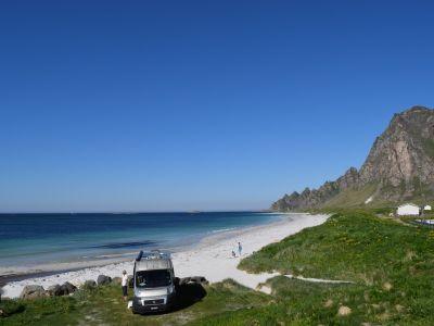 Campingplätze in Nordland (Nord), Lofoten und Vesteralen