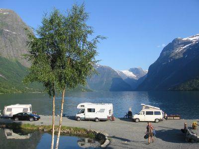 Campingplätze in Vestland (Sogn og Fjordane) bei Olden, Stryn, Nordfjord