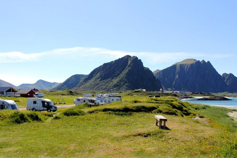 Andenes Camping ligging
