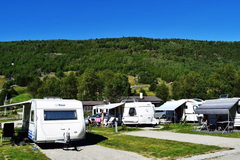 Birkelund Camping Kampeerplaatsen