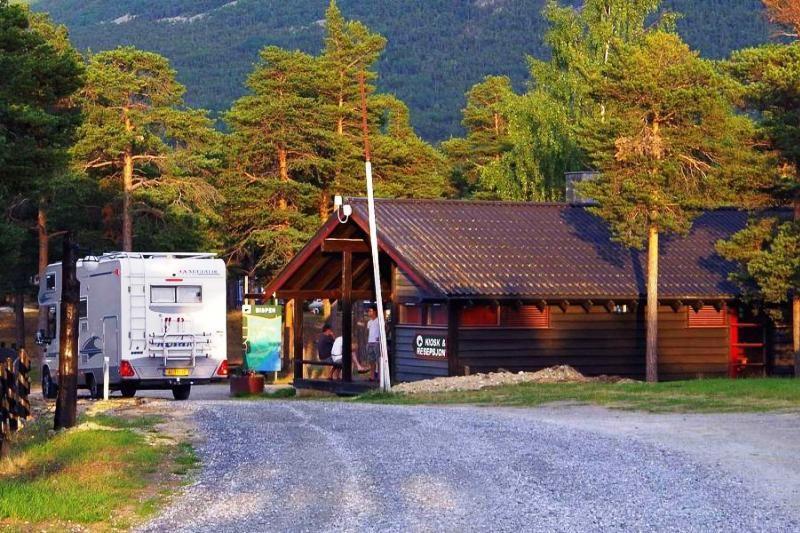 Bispen Camping entree