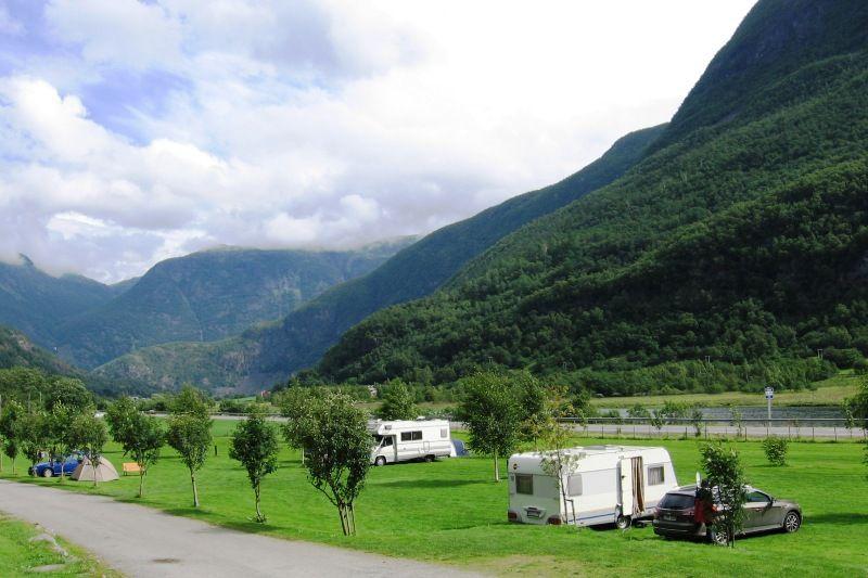 Borgund Hyttesenter og Camping Kampeerplaatsen