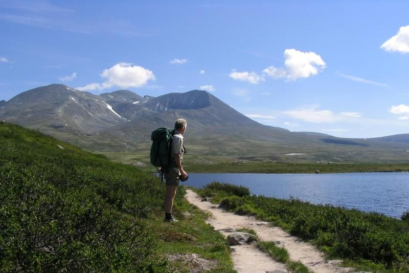 Dovreskogen Camping wandelen Rondane