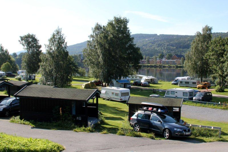 Drammen Camping hytter