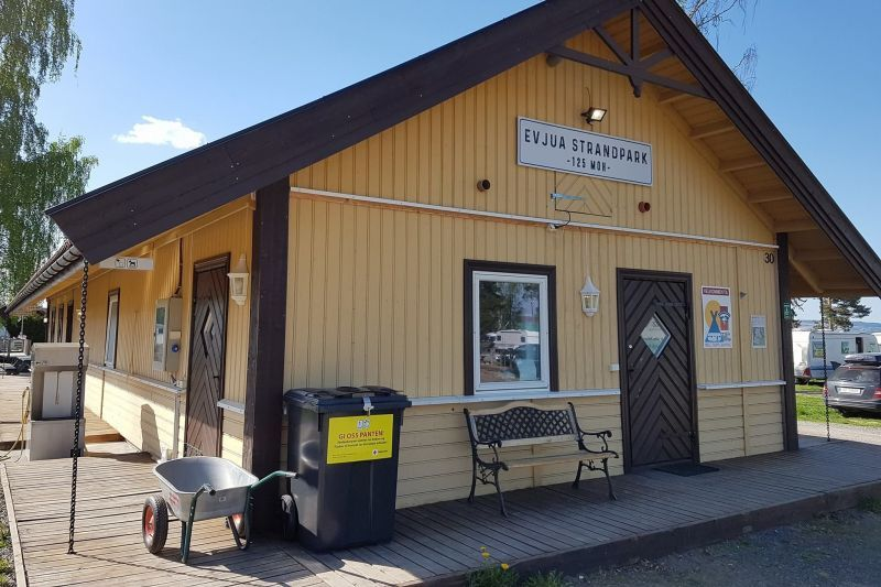Evjua Camping Skreia sanitairgebouw