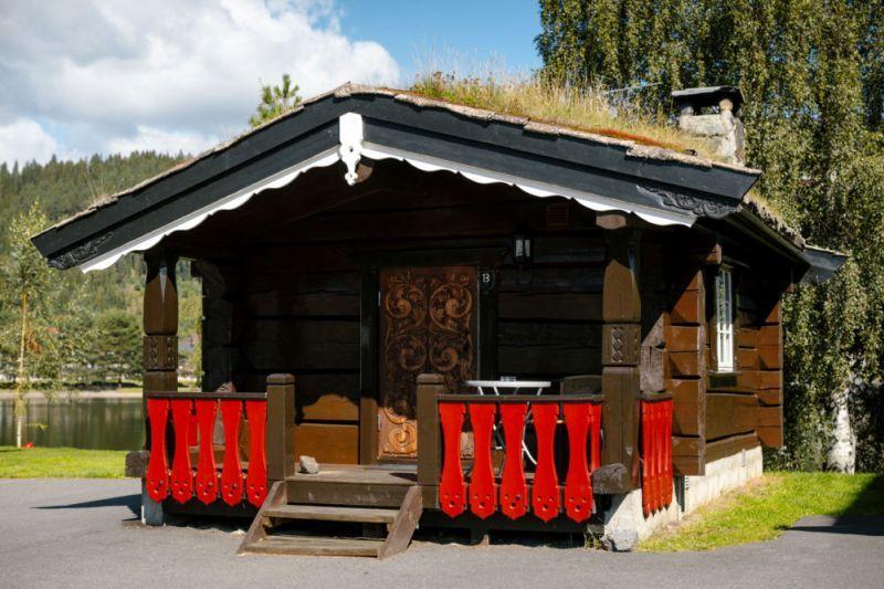 Fagernes Camping kleine hytter