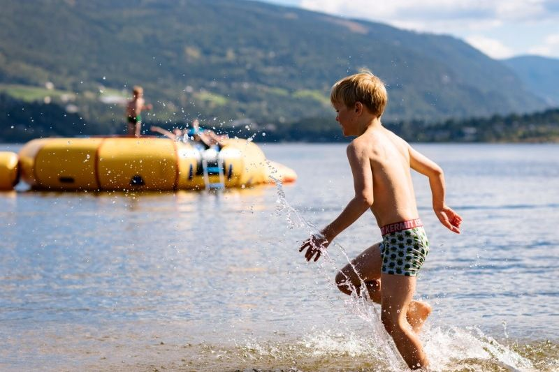 Fagernes Camping waterplezier
