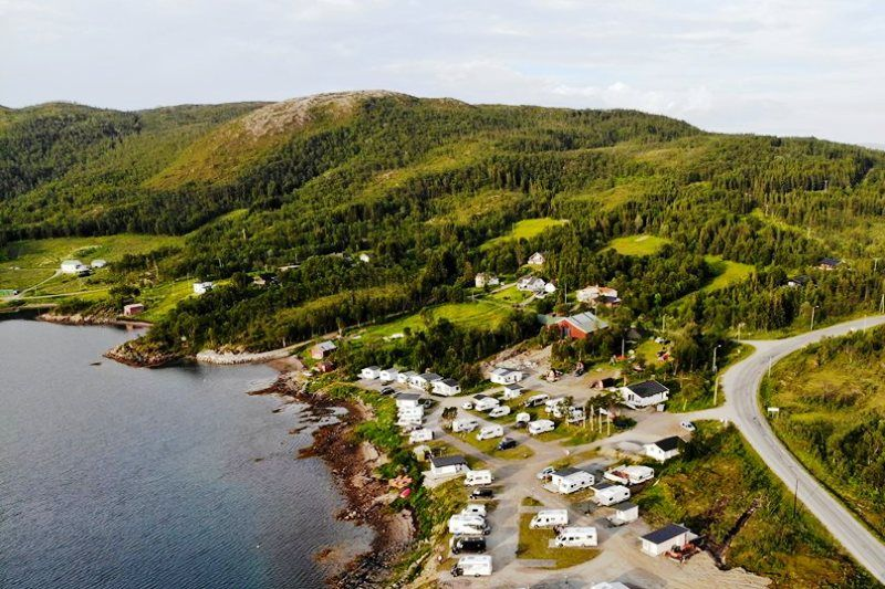 Fjordbotn Camping ligging