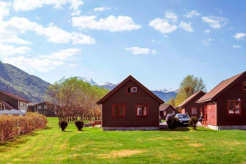 Forde Guesthouse og Camping hytter
