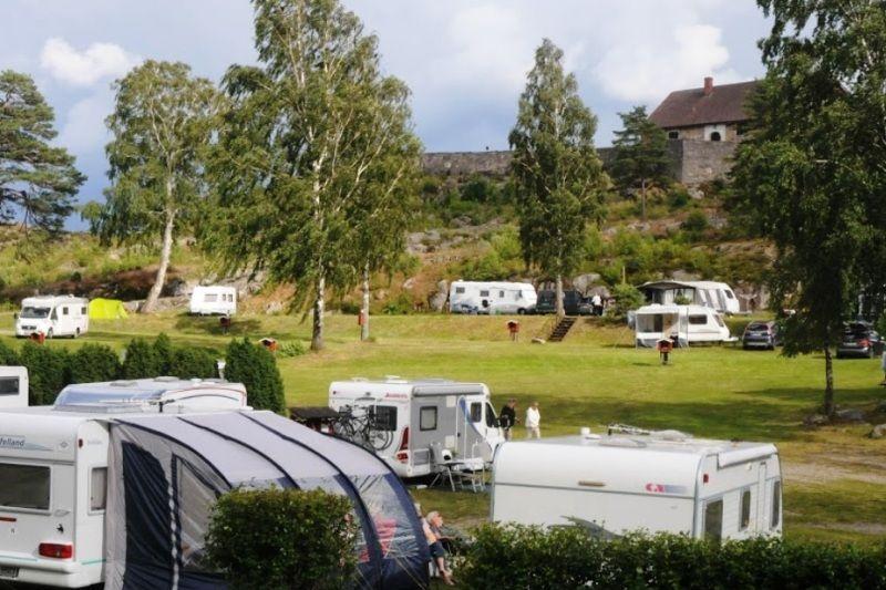 Fredriksten Camping Halden
