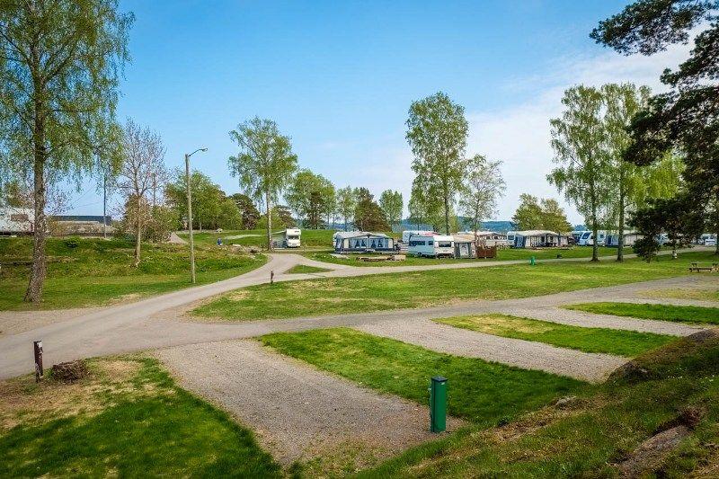 Granholmen Camping Sandefjord Kampeerplaatsen