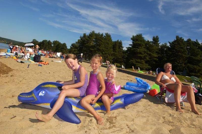 Hamre Familiecamping strandplezier