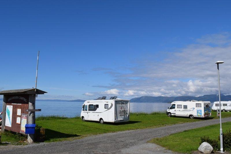 PlusCamp Hauganfjaera Camping Kampeerplaatsen