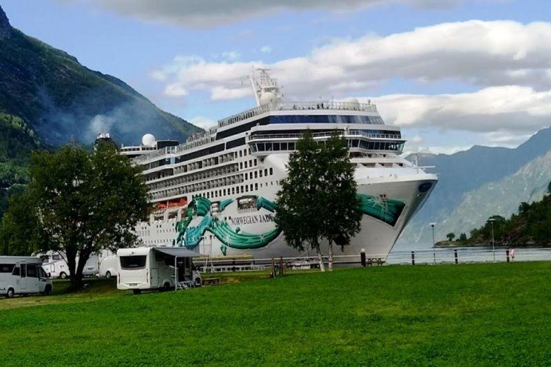 Hellesylt Camping Geirangerfjord