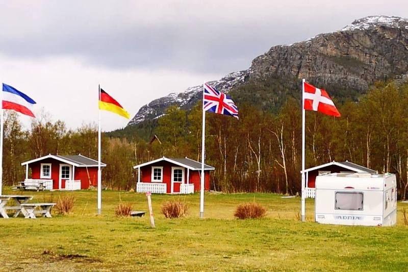 Holm Camping hytter