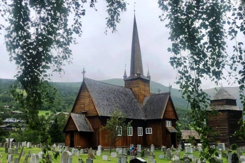 Holungsoy Camping staafkerk Vaga