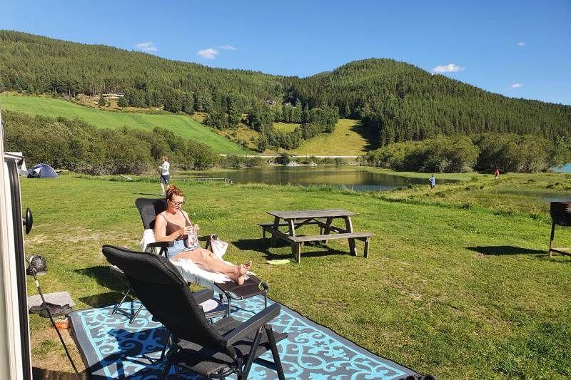 Holungsoy Camping Vaga kamperen aan het water
