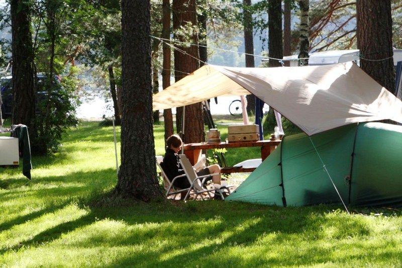 Hornnes Camping Kampeerplaatsen
