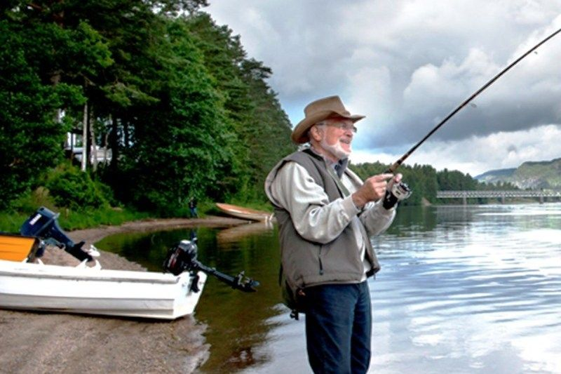 Hornnes Camping vissen