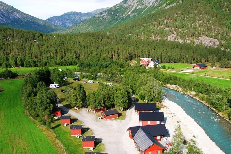 Jostedal Camping ligging