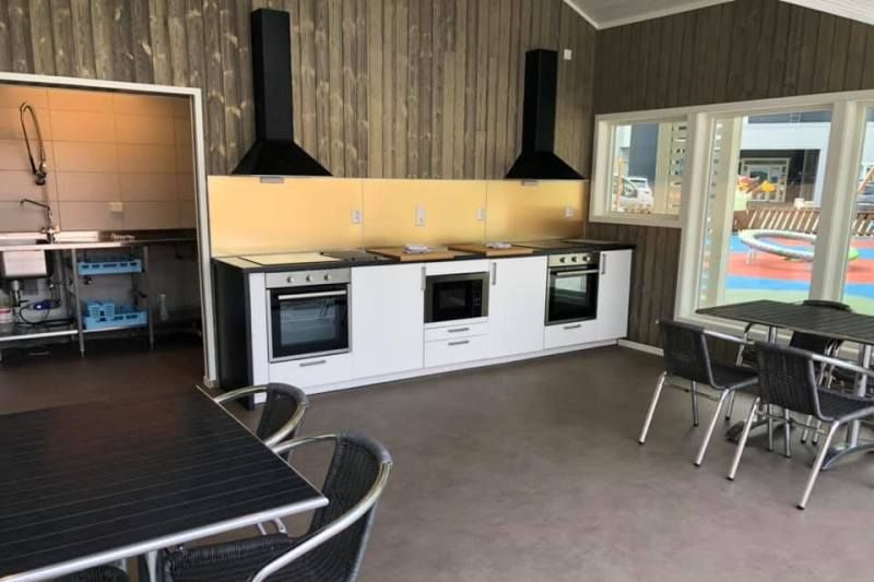 Kinsarvik Camping nieuwe keukens