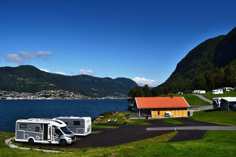 Kjornes Camping Sogndal camping aan het Sognefjord