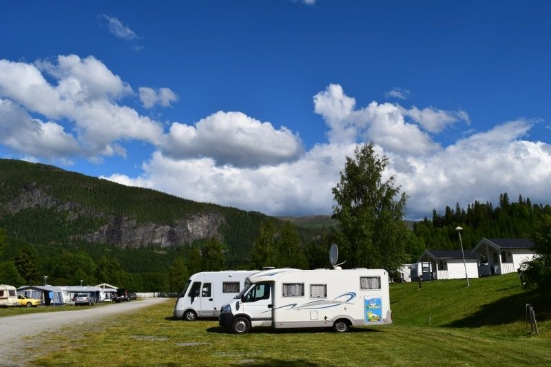 Langnes Camping Grong Kampeerplaatsen