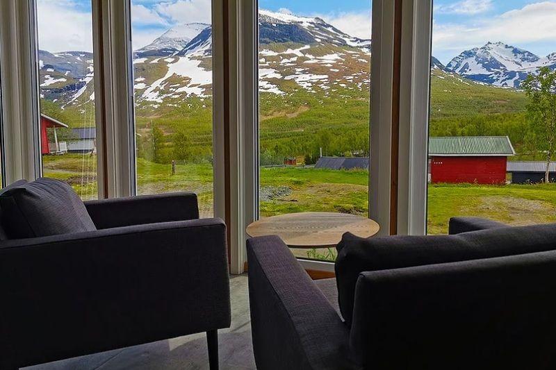 Lapphaugen Turiststasjon nieuwe lodges