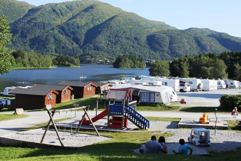 Lone Camping Bergen speeltuin