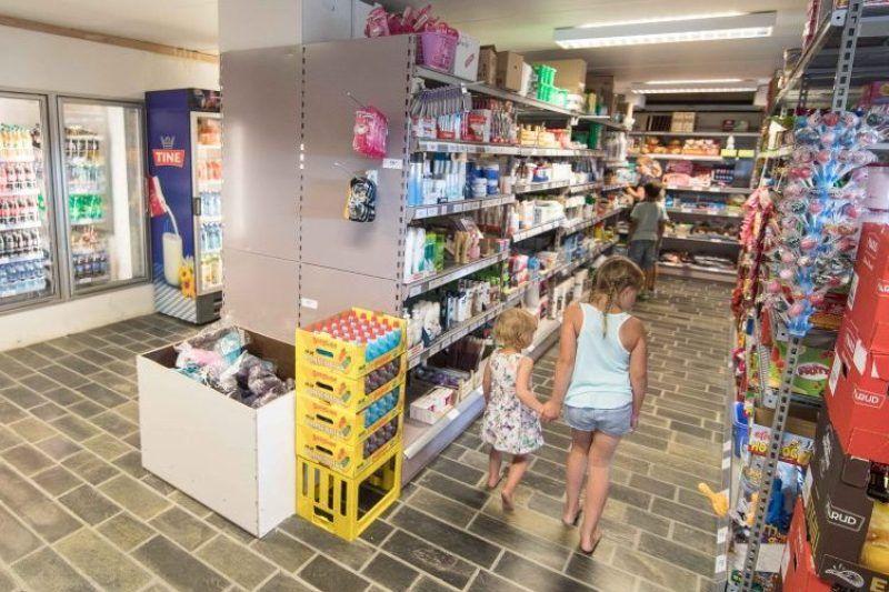 Lovisenberg Familiecamping supermarkt