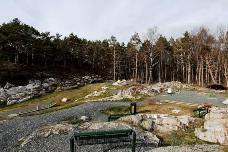 Marivold Camping midgetgolfbaan