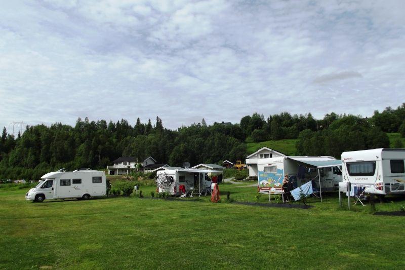 Mo i Rana Camping grasplaatsen
