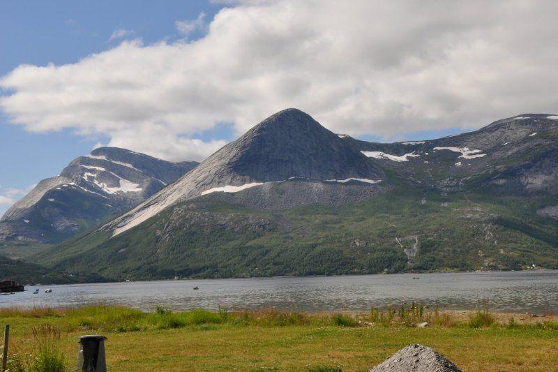 Morsvikbotn Camping ligging en uitzicht