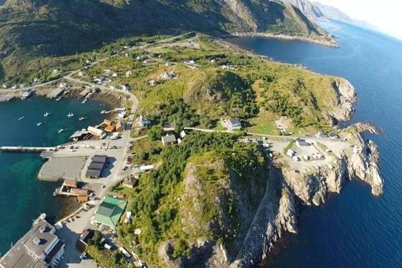 Moskenes Camping ligging Lofoten