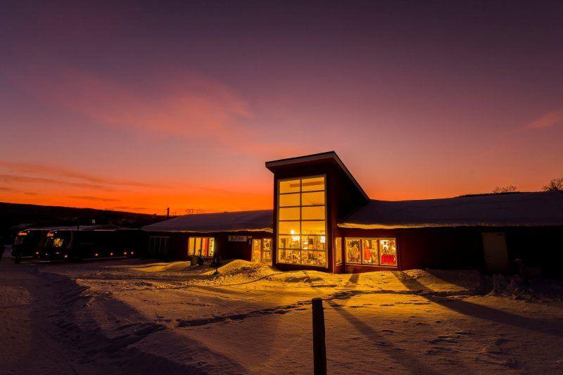Olderfjord Turistsenter winter