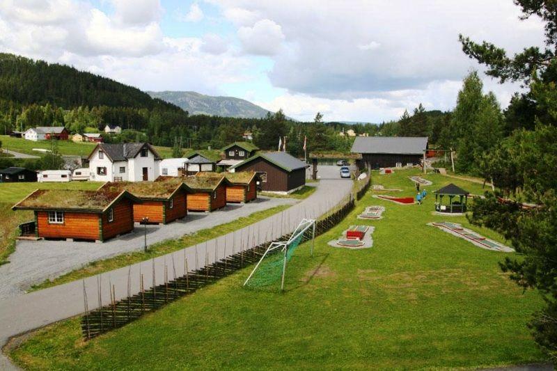 PlusCamp Aurdal Fjordcamping diverse sport- en spelvoorzieningen