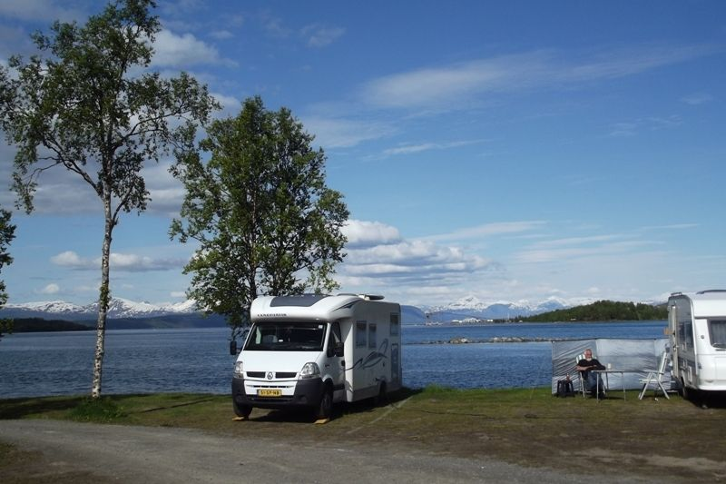 PlusCamp Ballangen Camping Kampeerplaatsen