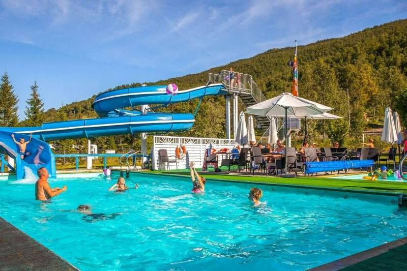 PlusCamp Ballangen Camping zwembad