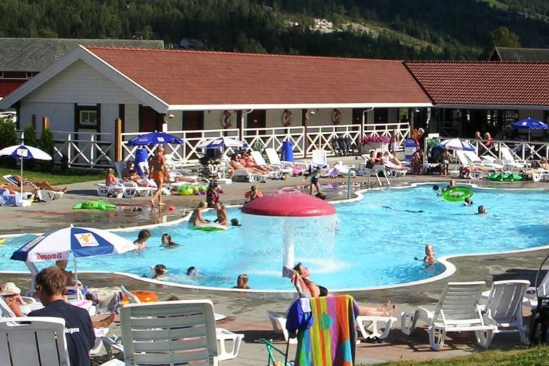 PlusCamp Gol Campingsenter zwembad