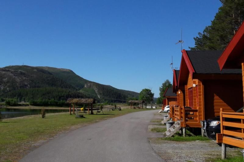 PlusCamp Namsos Camping grote hutten