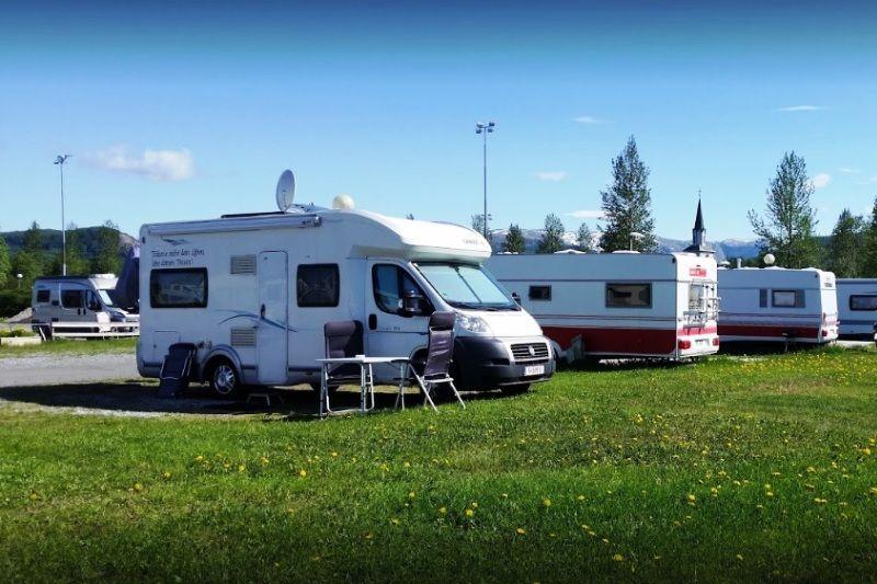 PlusCamp Saltstraumen Camping Kampeerplaatsen