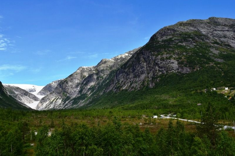 PlusCamp Sandvik Gaupne bezoek Nigardsbreen