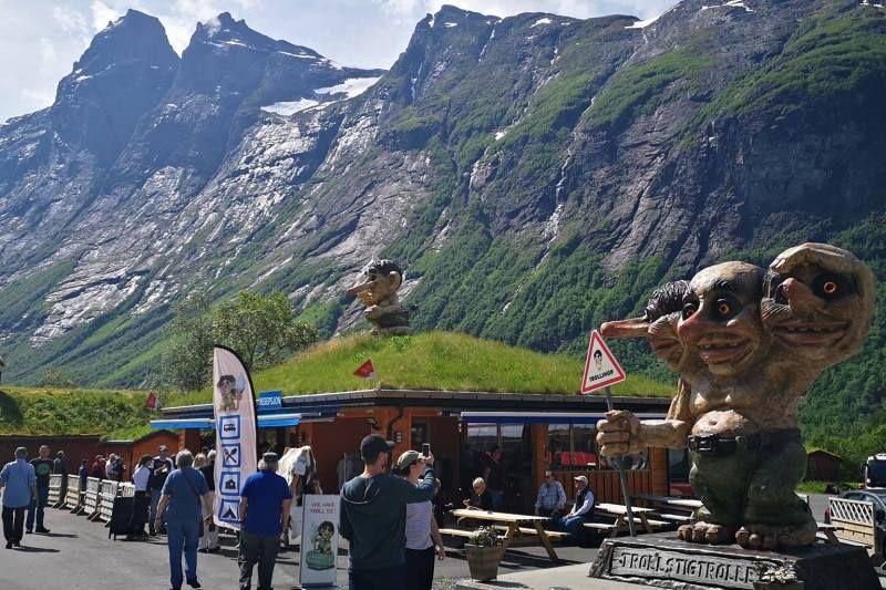 PlusCamp Trollstigen Camping og Gjestegard trollen