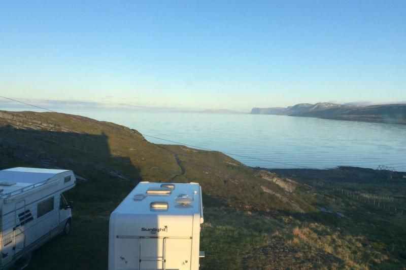 Repvag Camping uitzicht