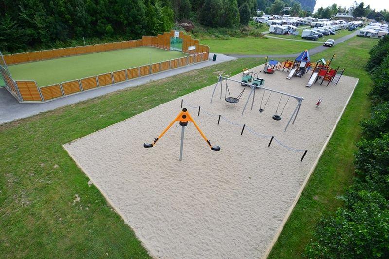 Rognstranda Camping sport- en spelvoorzieningen