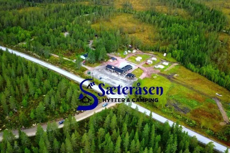 Saeterasen Hytter og Camping Trysil ligging