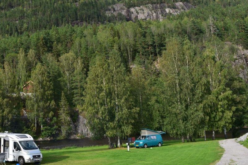 Sanda Camping og Hytteutleie Kampeerplaatsen