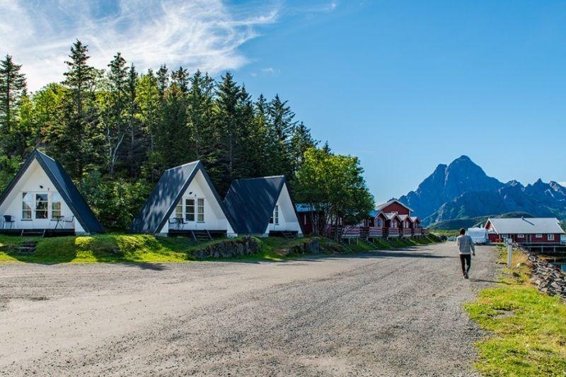 Sandvika Fjord og Sjohus Camping vakantiehuisje